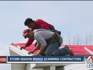 Angie's List: Storm season brings scammers