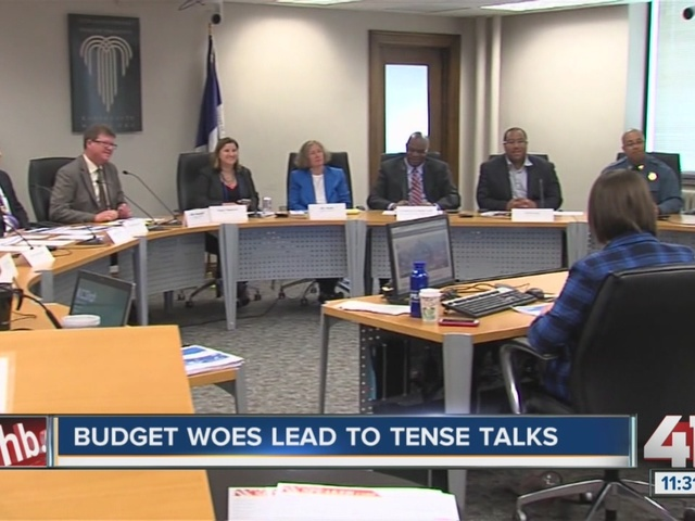 Budget issues lead to tense talks