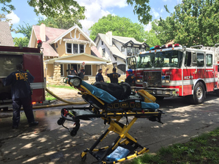 Fire damages rental home on the east side