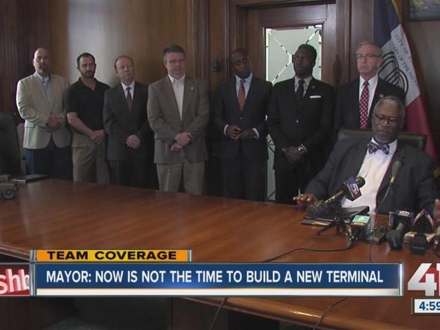 Mayor says Kansas City not ready to move forward on KCI