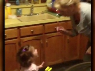 VIDEO: Toddler is a lawyer in training