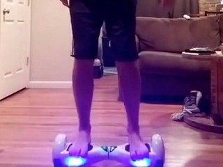 VIDEO: Hoverboard ride ends with face-plant