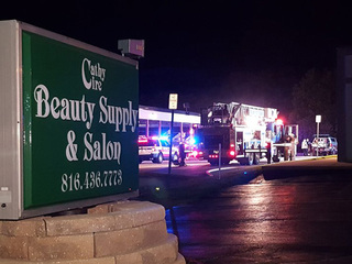 Overnight fire closes Gladstone beauty and salon