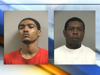 Charges filed in robbery, shooting at officers