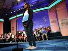 Vanya Shivashankar gives advice to spellers