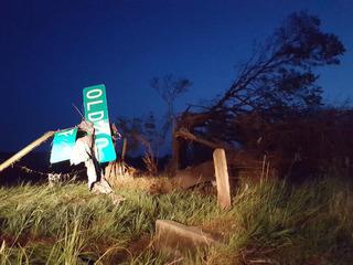 Tornado damages KS homes, no reported injuries