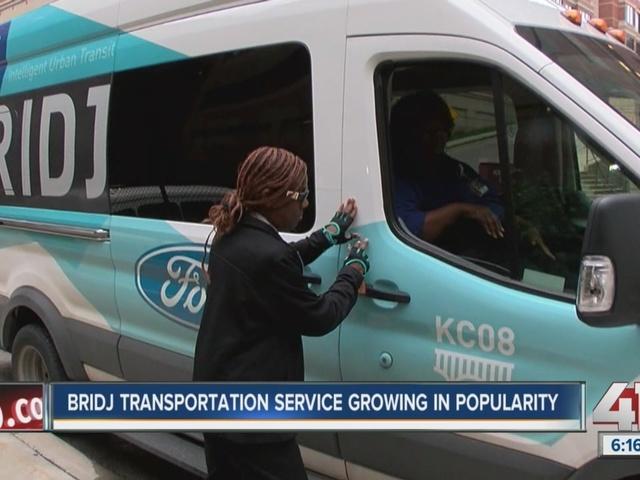 Bridj transportation service is growing
