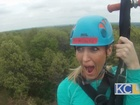 Ziplining In KC