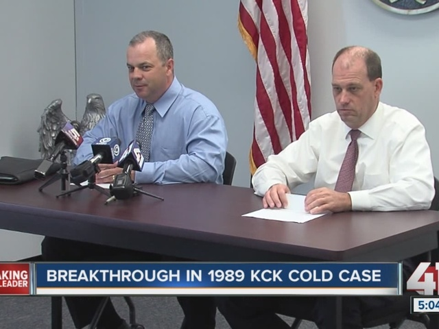 Kansas City, Kansas police detectives set to turn over 1989 cold case…