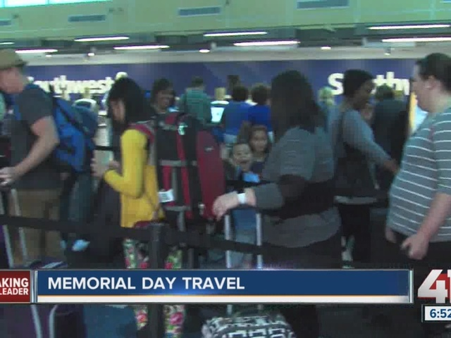 KCI Airport at the center of many Memorial Day travel destinations