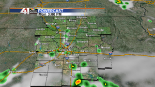 Rain chances return Tuesday and Wednesday