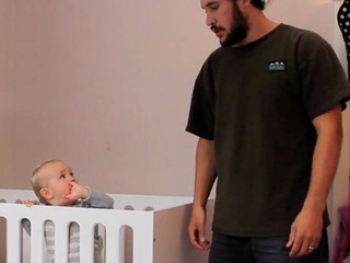 VIDEO: How to put a baby to sleep