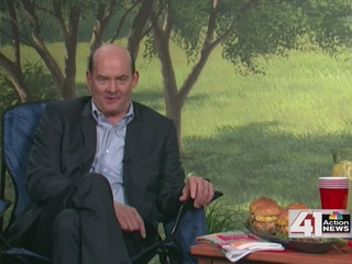 Grilling With David Koechner