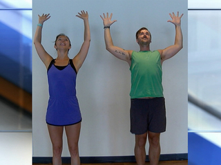 Workplace yoga moves can energize the body
