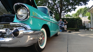 Car show has special meaning for one KC family