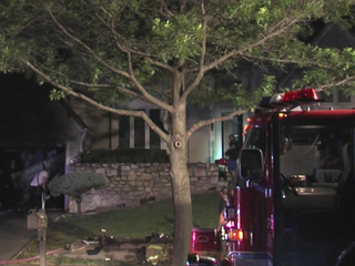 Two-alarm house fire causes heavy damage in OP