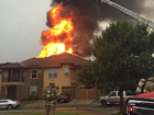 Lightning causes fire at 2 JoCo residences