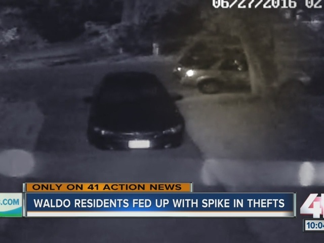 Waldo residents fed up with uptick in thefts, break-ins