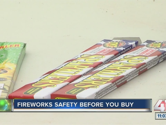 Fireworks safety before you buy
