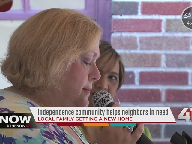 Independence community helps neighbors in need