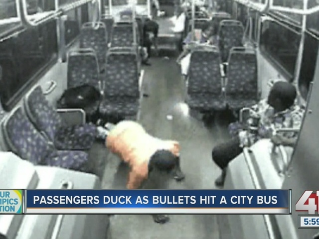 KCATA bus struck by gunfire