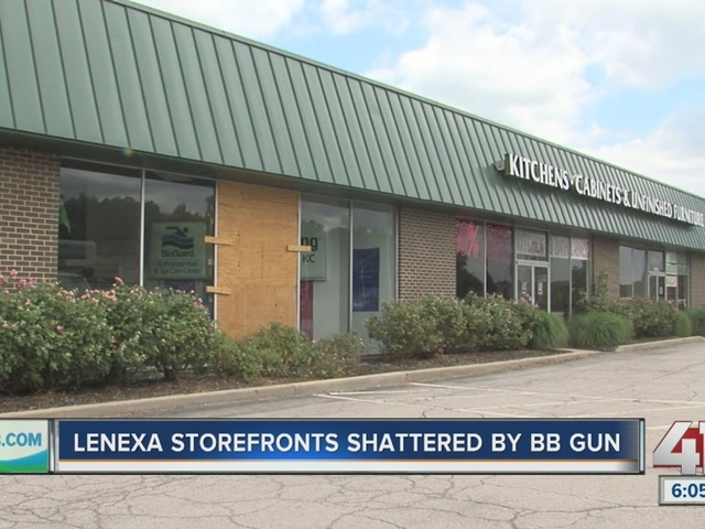 Vandals target and damage Lenexa businesses over and over again