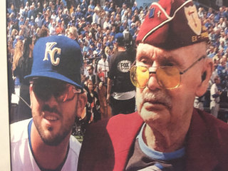 Marine, Royals first pitch guest passes away