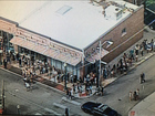 Huge crowds gather for free donut from Joe Jonas