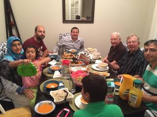KC Methodists and Muslims join for meals, prayer