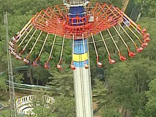 Worlds of Fun riders stuck for 2nd time in July