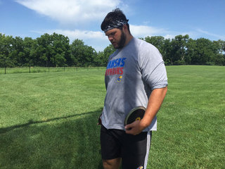 Lawrence discus thrower qualifies for Olympics