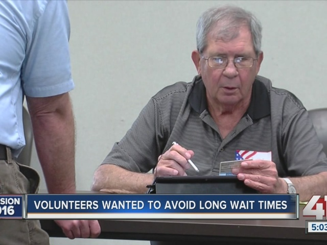 Election day worker shortage for the upcoming fall elections in Kansas City