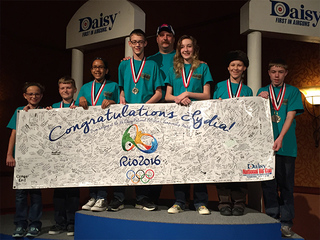Gun safety is a priority for youth shooting team
