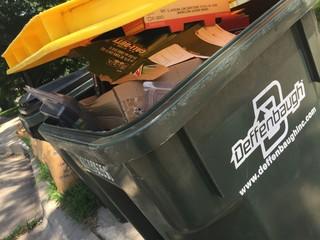 JoCo trash piles up after 2 weeks of no service