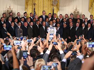 Kansas City Royals go to the White House