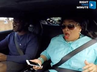 Deji Olatunji gives his mom the ride of her life