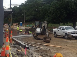 Streetscape project underway in downtown Liberty