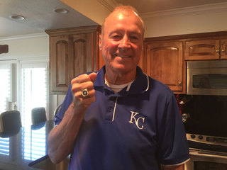 Former Royals player reunited with lost WS ring