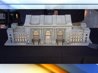 Union Station replica unveiled Wednesday