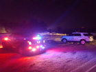 Train hits abandoned vehicle in Overland Park