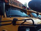 KS Highway Patrol troopers inspect school buses
