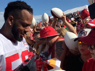WATCH: Chiefs wrap up first full squad practice