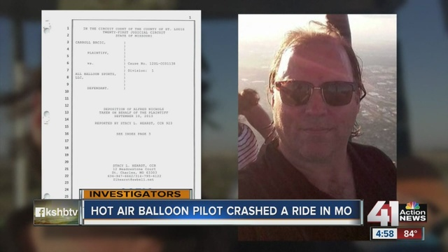 Pilot in hot air balloon crash had convictions, complaints