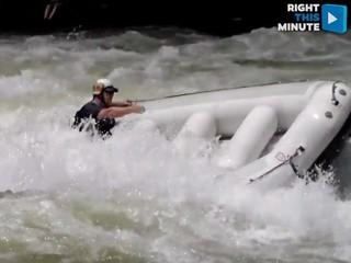 VIDEO: River rafting trip turns dangerous