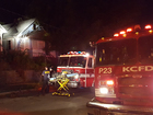 Two adults, four children displaced after fire
