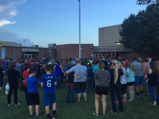 Hundreds honor Corey Turner at vigil