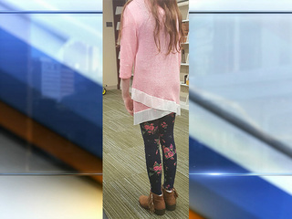 Mom upset daughter's outfit violated dress code