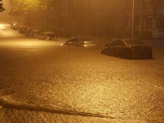 Friday night thunderstorms flood KC metro
