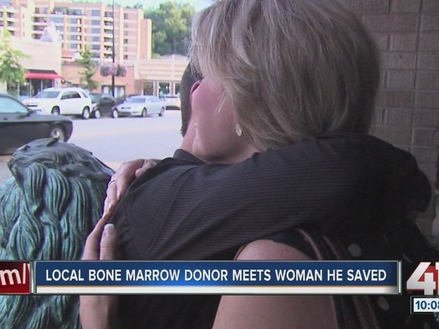 Leukemia survivor meets donor who saved her life