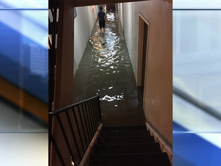 Flash flooding destroys homes in Westport